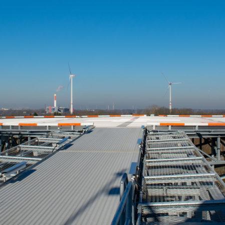 Panorama auf Helipad am Klinikum Bremerhaven